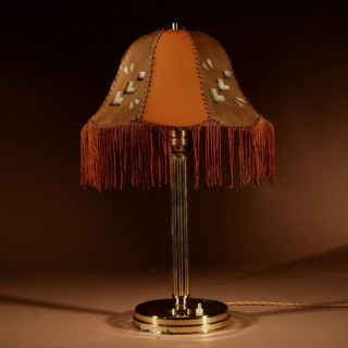 Art Deco Cubism Very Interesting Table Lamp Circa 1920.