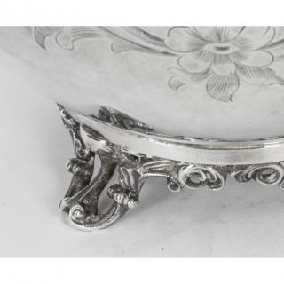 Antique Victorian Silver Plated Teapot Elkington & Co Circa 1880