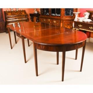 Antique Regency Metamorphic Mahogany Dining Table 19th C