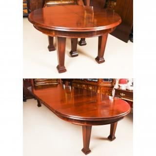 Antique Victorian Metamorphic Extending Jupe Dining Table 19th Century