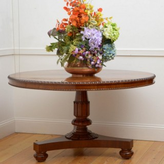 Outstanding William IV Mahogany Centre / Dining Table