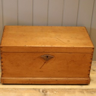 Late Victorian Pine Chest