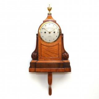 George III Satinwood Bracket clock - John Grant, London