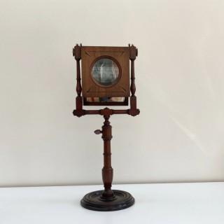 Large Eighteenth Century Mahogany Zograscope