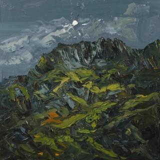 'Moon Over Crib Goch' by Martin Llewellyn (born 1963)