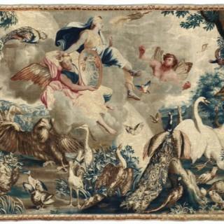 17th Century 'Menagerie de Versailles' tapestry - 'Air'