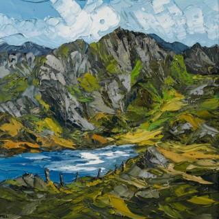 'Lake Below, Cwm Idwal' by Martin Llewellyn (born 1963)