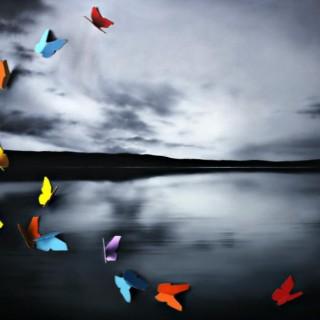 'Loch Eileabhat Sunset' by Donald Macdonald (born 1976)