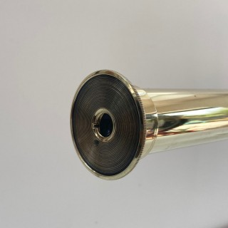 Huge Cased Victorian Four Draw Telescope on Stand by S&B Solomons, London