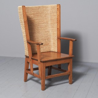 Large Pine Frame Orkney Chair