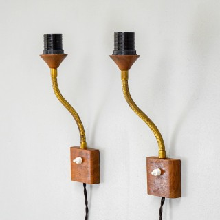 Pair of Wall Mounted Articulated Lamps