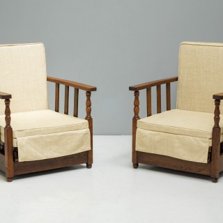 Pair of Day Bed Armchairs