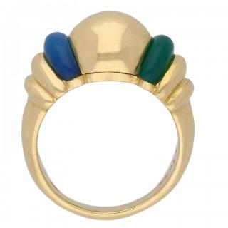Vintage dress ring by Boucheron, French, circa 1970.