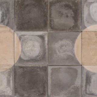 Reclaimed Encaustic Tiles 5.8 m2 (62 ft2)