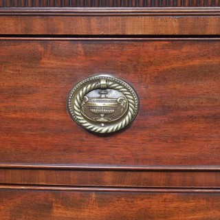 Gillows Style George III Bow Front Mahogany Chest of Drawers