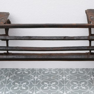 A Reclaimed 18th Century Kitchen Fire Grate
