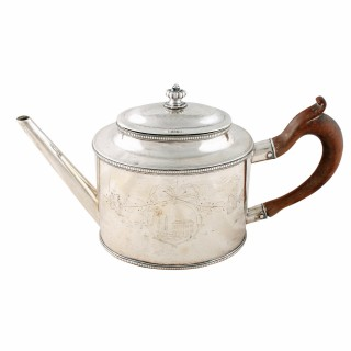 18th Century Sheffield Plate Tea Pot