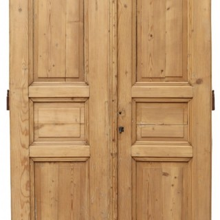 A Set of Reclaimed Double Doors
