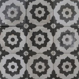 Reclaimed Patterned Encaustic Floor Tiles 1.25m2 (13.5 ft2)