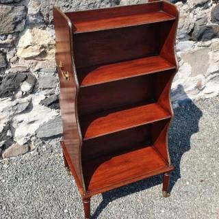 Regency Double Sided Waterfall Bookcase
