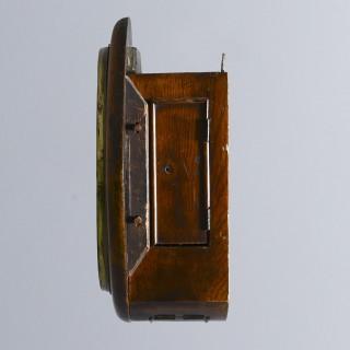 Oak Fusee Wall Clock by Hamilton & Inches