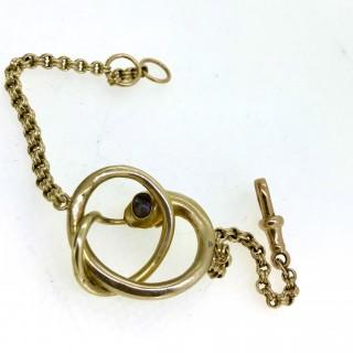 Gold and Turquoise Snake Bracelet