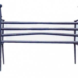 An 18th Century Wrought Iron Fire Grate