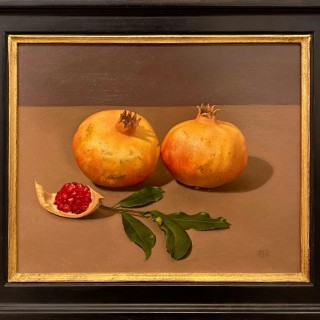 'Two Pomegranates' by Siân Hopkinson (born 1967)