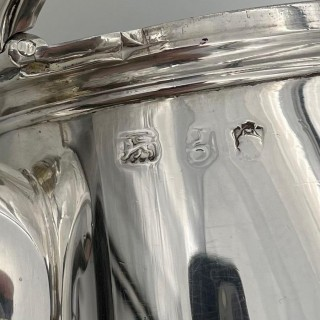 Antique George II Sterling Silver Coffee Pot London 1742 Peter Taylor