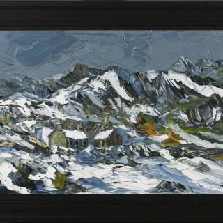 'Winter Evening, Llanberis' by Martin Llewellyn (born 1963)