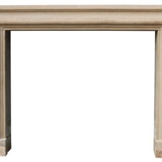 Antique Cotswold Limestone Bolection Fireplace