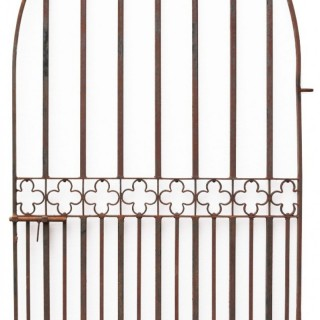 A Reclaimed Gothic Style Garden Gate