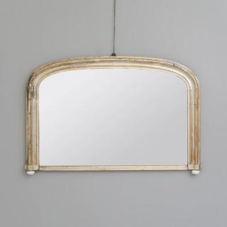 Silvered Overmantel Mirror