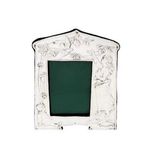 Antique Art Nouveau Sterling Silver 10