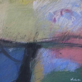 Il Lago in basso  by  Rino Valido (born 1947)
