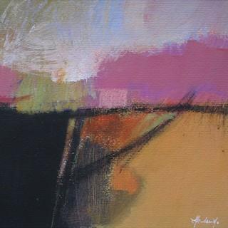 Linea a metà  by  Rino Valido (born 1947)