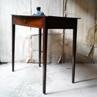 A Late George III Period Mahogany Side Table c.1800