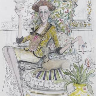 'Martini Time' by Sue Macartney Snape (born 1957)