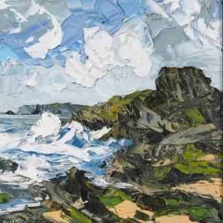 'Crashing Waves I' by Martin Llewellyn (born 1963)