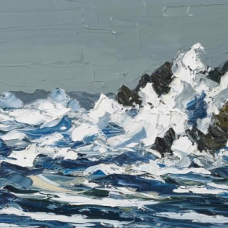 'Crashing Waves II' by Martin Llewellyn (born 1963)
