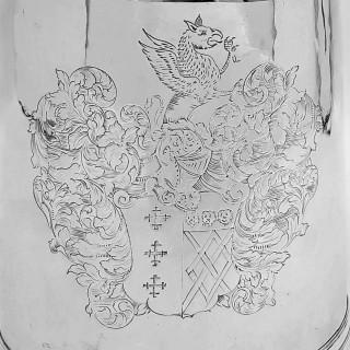 William III Silver Tankard