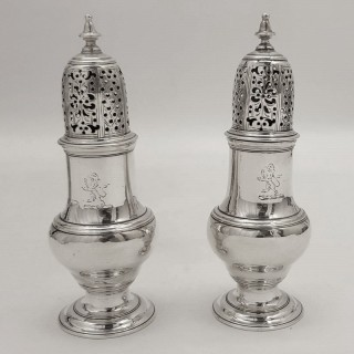 George Ii Silver Casters