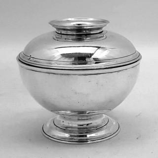 George Ii Covered Sugar Bowl
