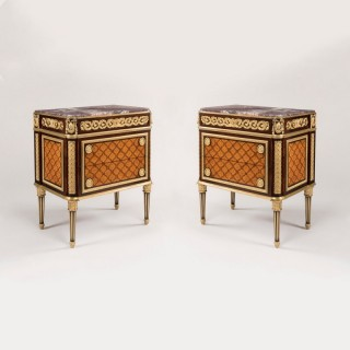 A Pair of Commodes in the Louis XVI Manner