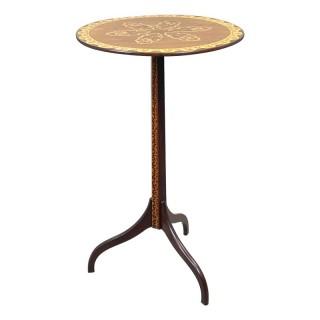 19th Century Goncalo Alves Circular Wine Table
