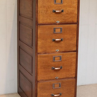Walnut Filing Cabinet