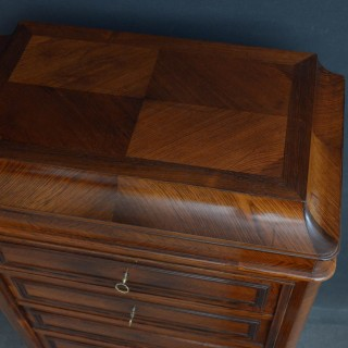 French Chest of Drawers with Secretaire