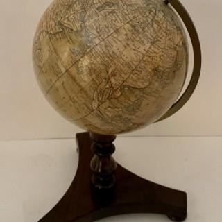 A mid 19th century Terrestrial Globe