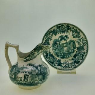 Davenport Miniature Jug and Bowl