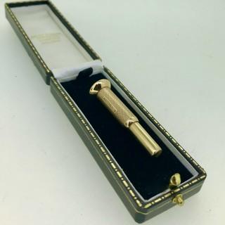 Gold Cigar Cutter